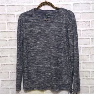Roots Long Sleeve Drawstring Top Size XL
